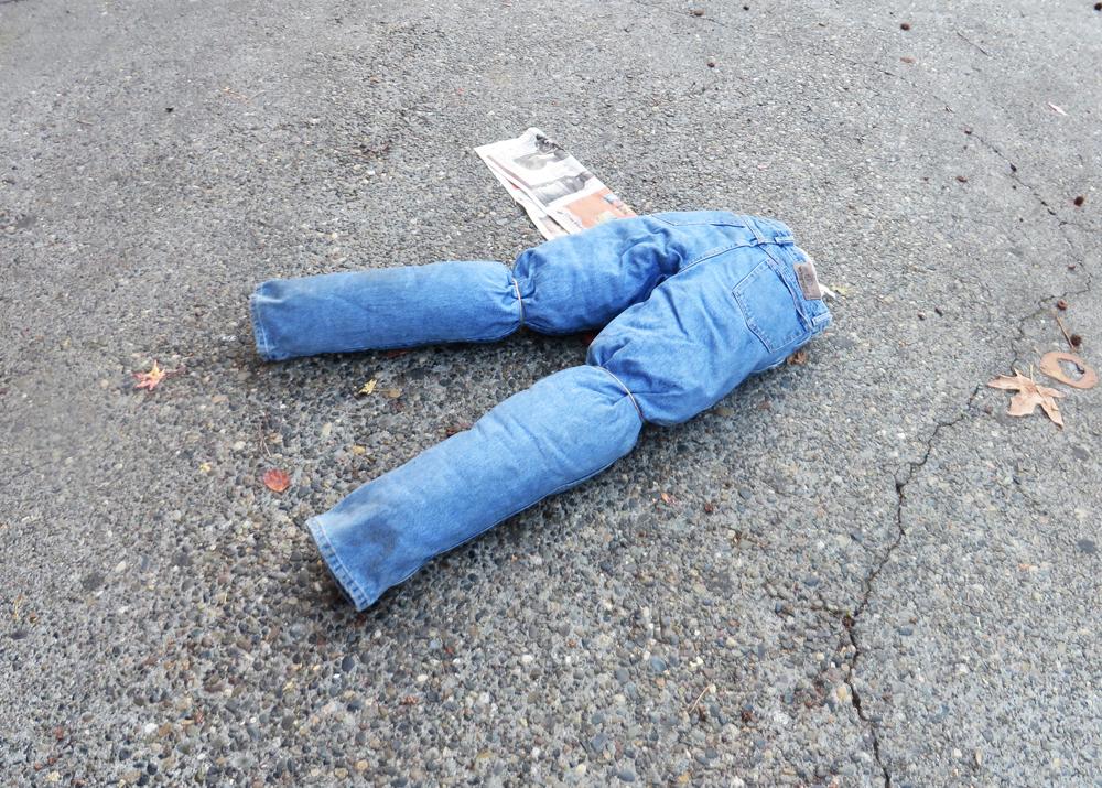 Pants on Pine Street