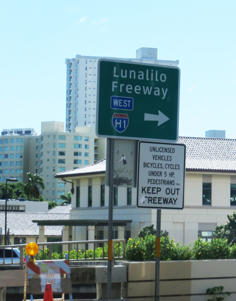 Hawaii Interstate Sign
