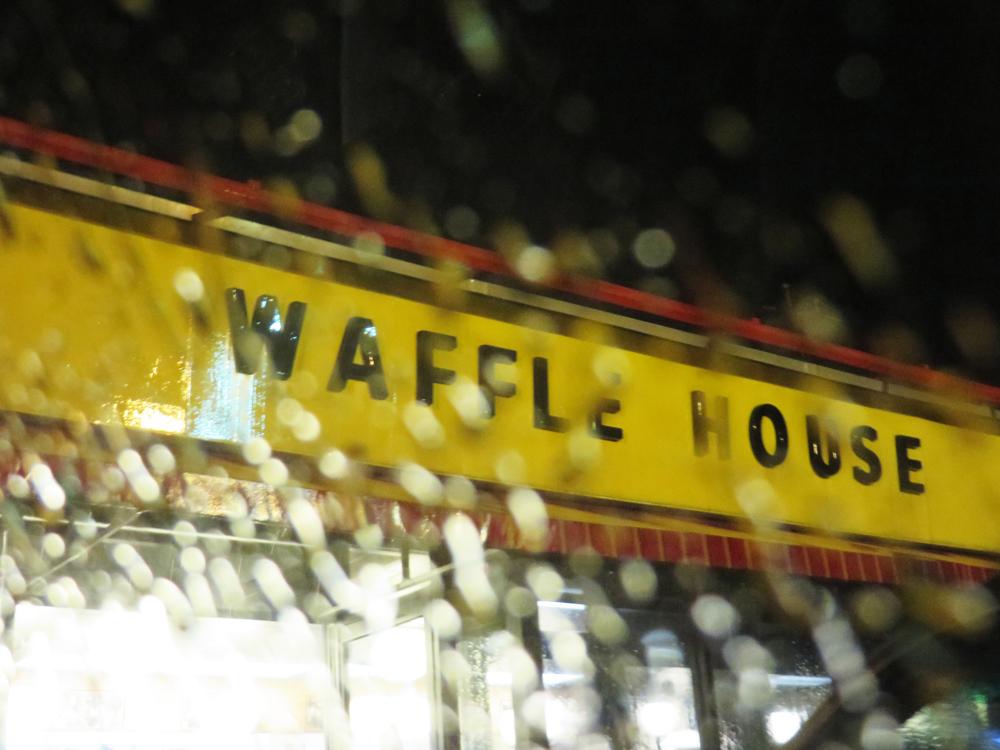1 waffle house sign
