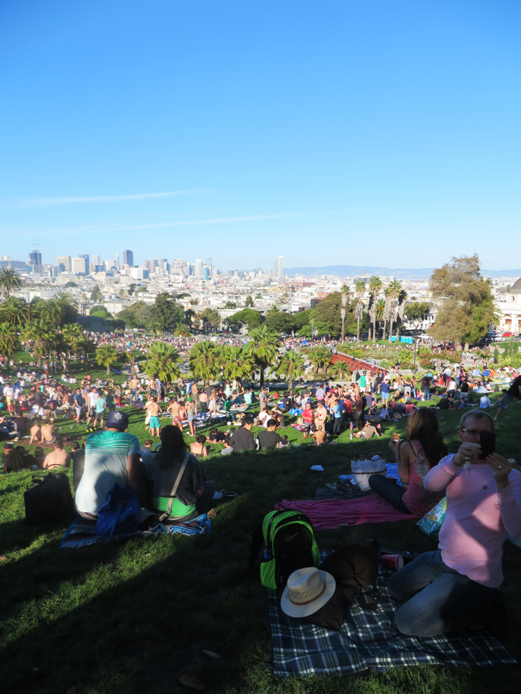 holy crap dolores park