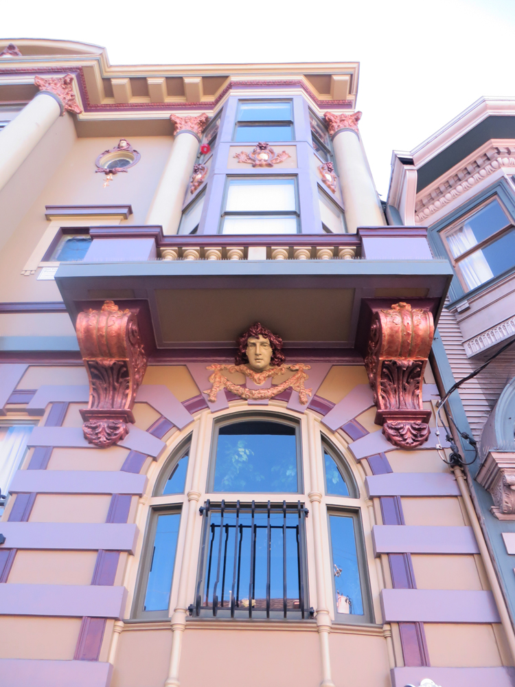 extremely ornate house off haight street in san francisco