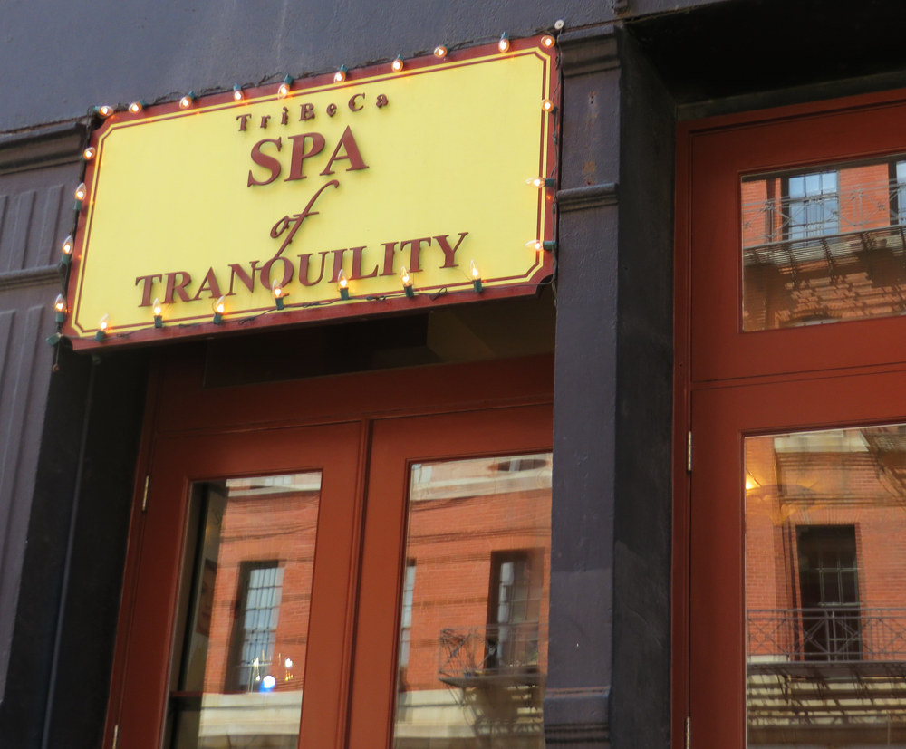 The Tribeca Spa of Tranquility, Manhattan