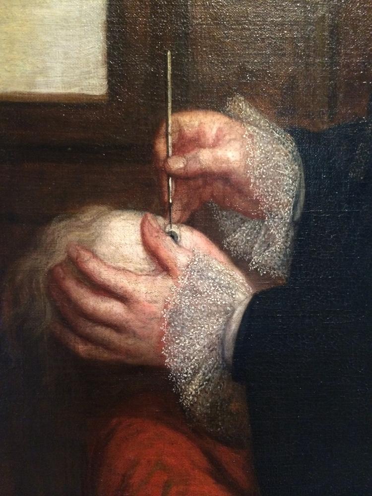 Portrait of Francois de Wulf, anonymous, 18th century