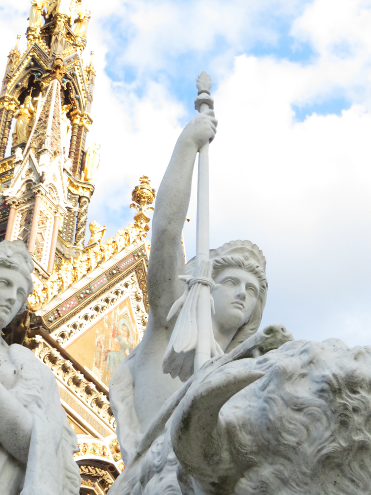 Part of the Albert Memorial in London