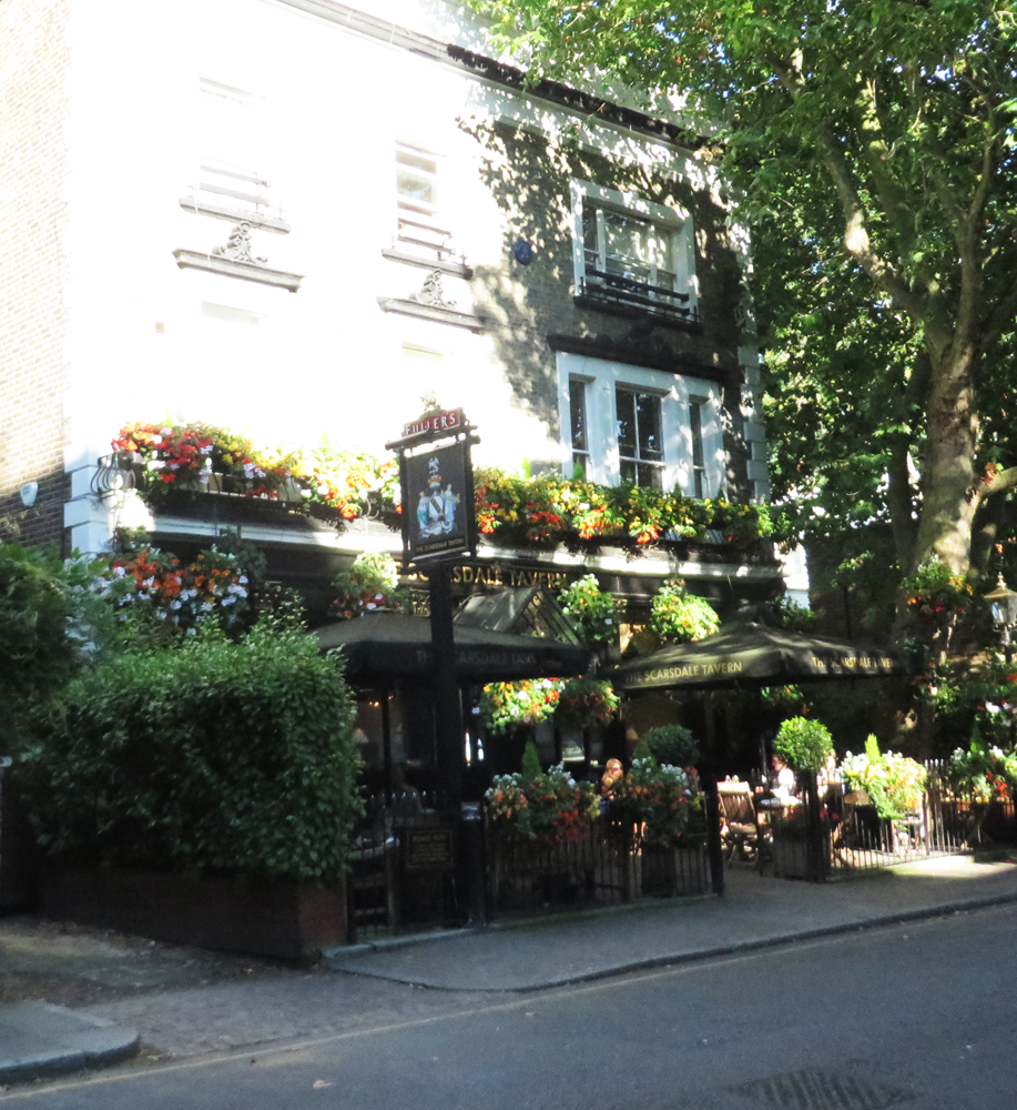 mirage pub, kensington, london