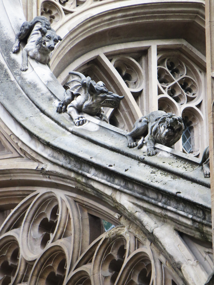 ghoulies on Westminster Abbey