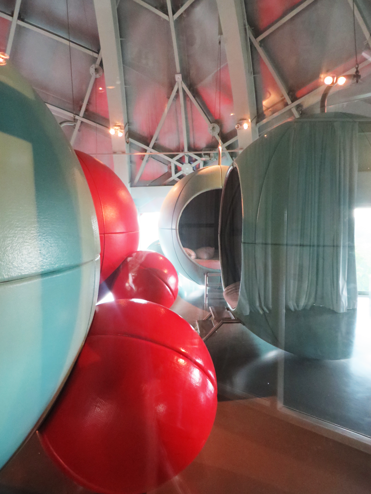 The Atomium's adorable nap room for lucky children