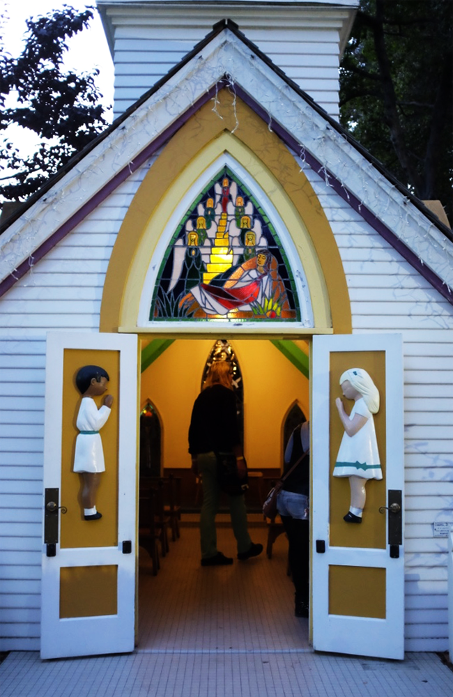 The chapel at Oakland's Fairyland