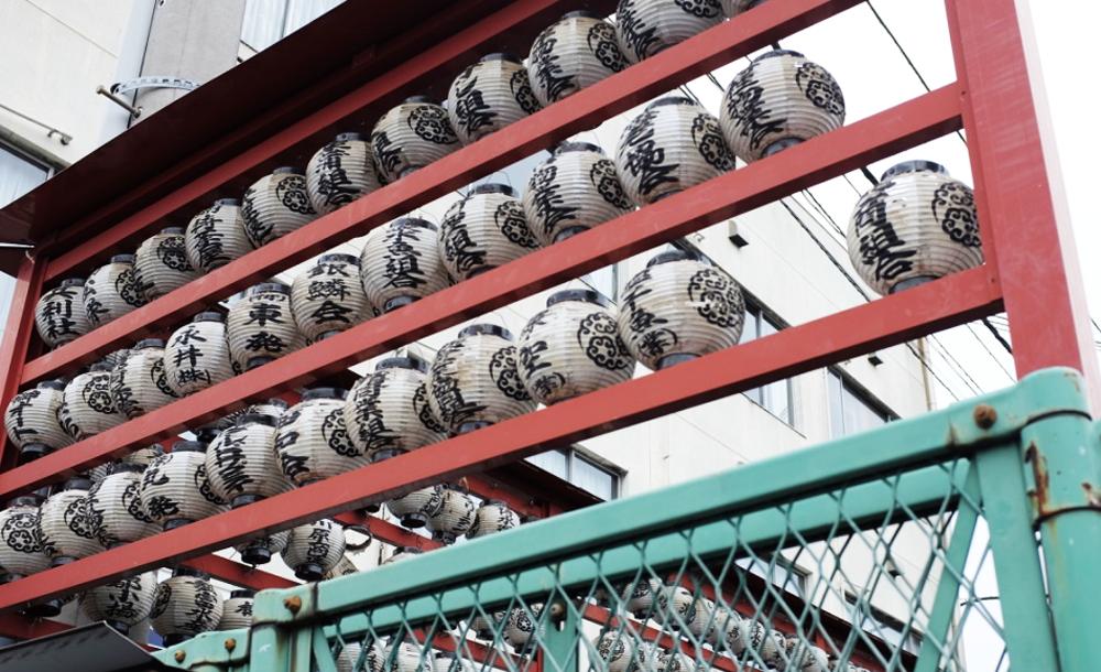 Lanterns at Tokyo's Tsukiji Market