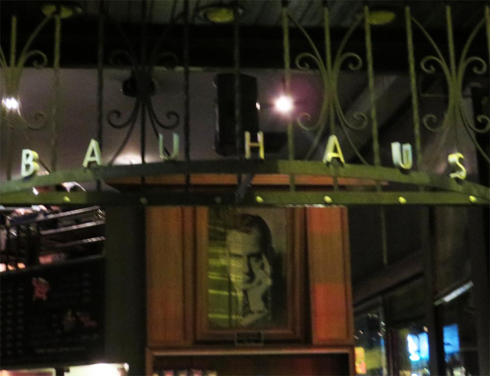 The entry at Bauhaus