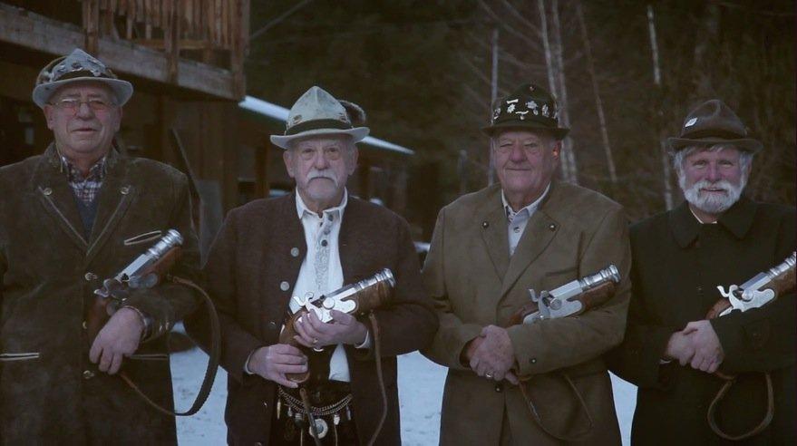 bavarians with guns