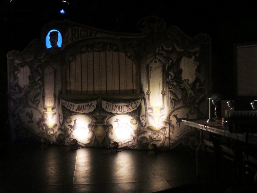 The set of Sgt. Rigsby at the Theatre Off Jackson