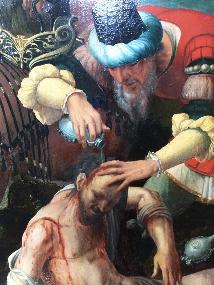 The Good Samaritan, anonymous, Southern Netherlands, 16th century