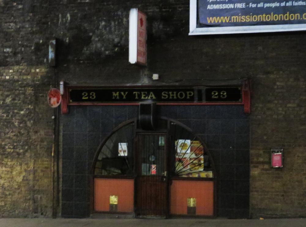 Super cute tea shop near London Bridge tube station
