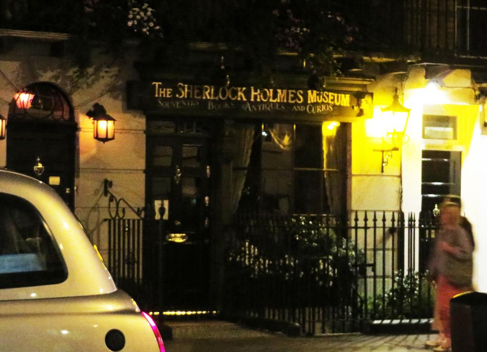 The Sherlock Holmes Museum on Baker Street