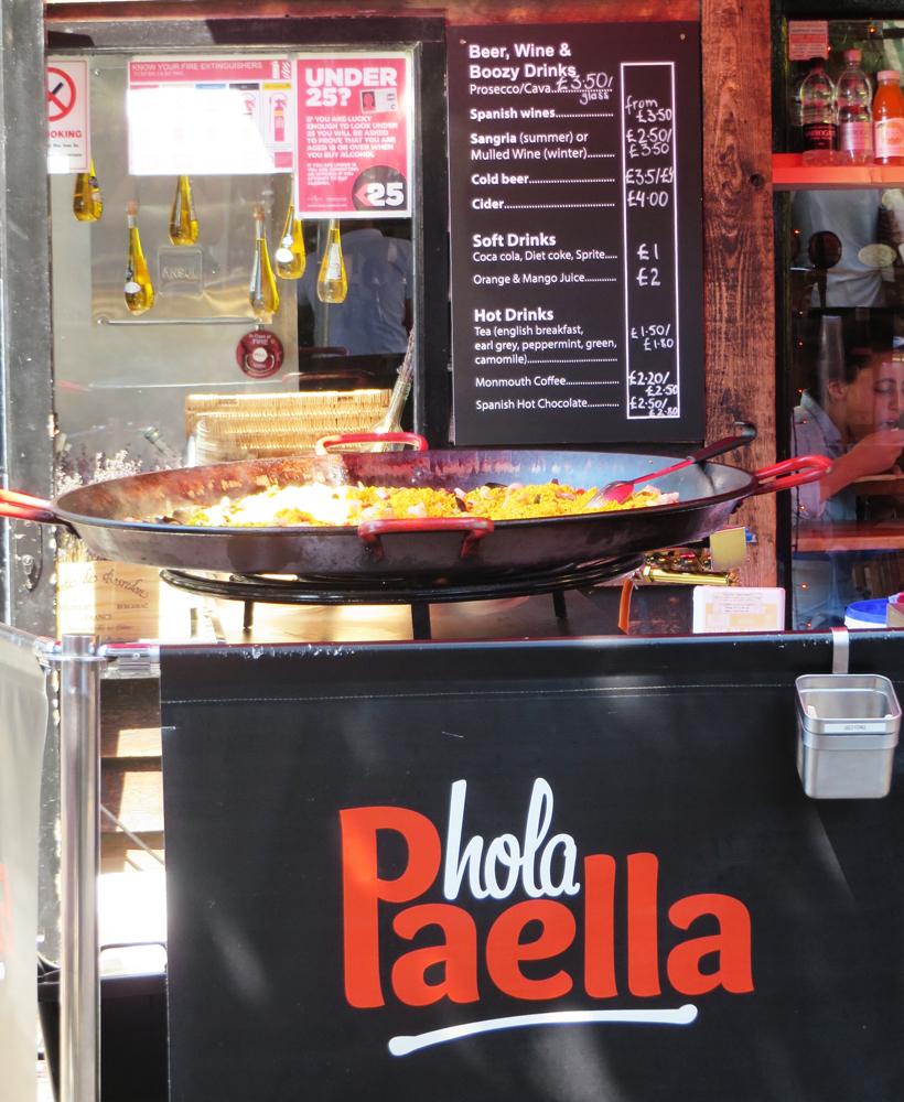 Hola Paella at Camden Market