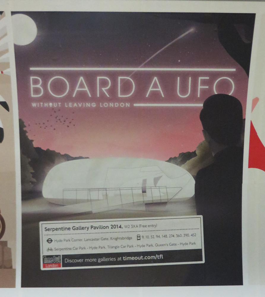 London wants you to board a UFO. Tell London no thanks.