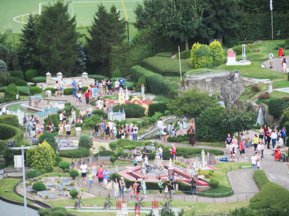 Mini-Europe from above