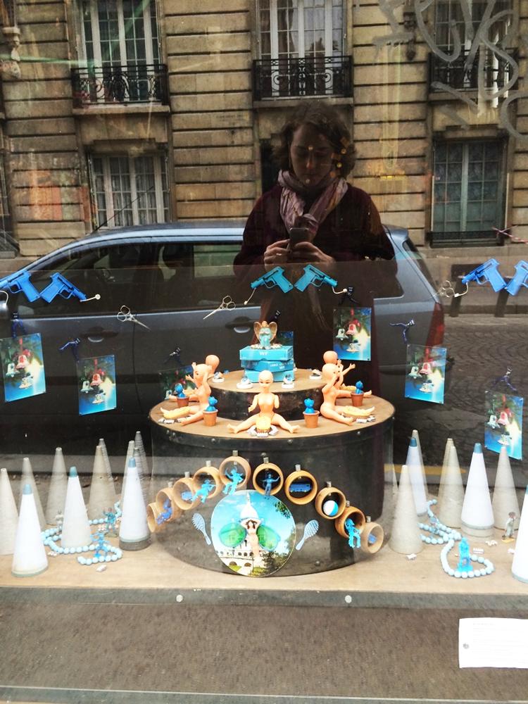 A most excellent shop window in Montmartre in Paris