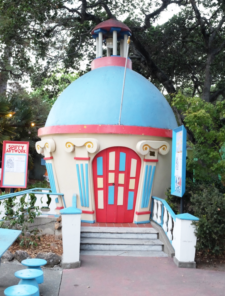 A cottage at Oakland's Fairyland