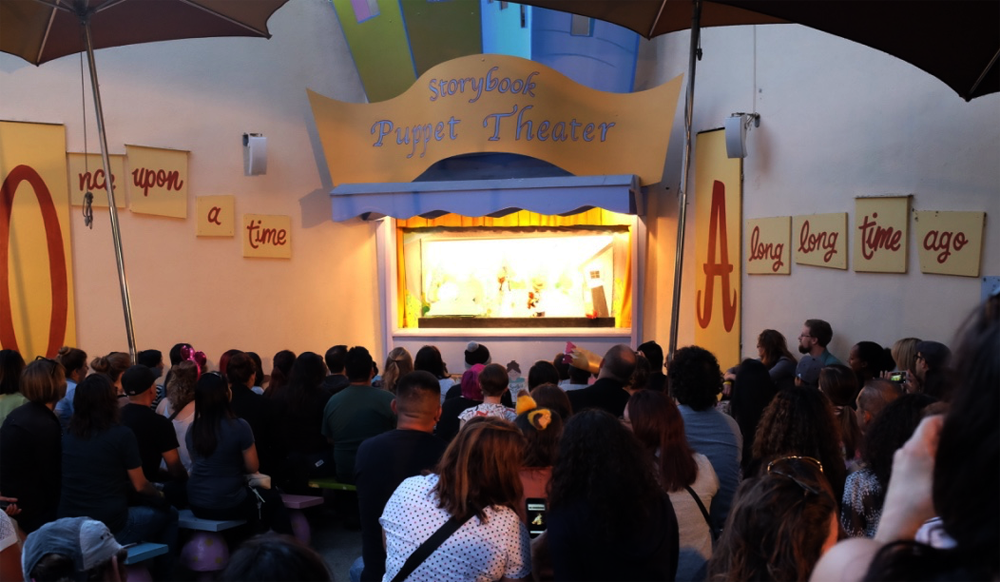 Wizard of Oz puppetry at Fairyland