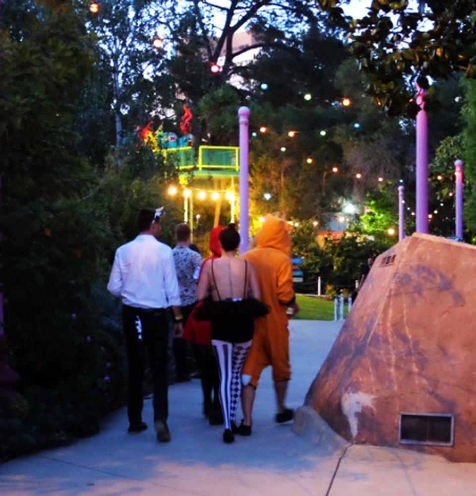 Revelers at Fairyland4Grownups