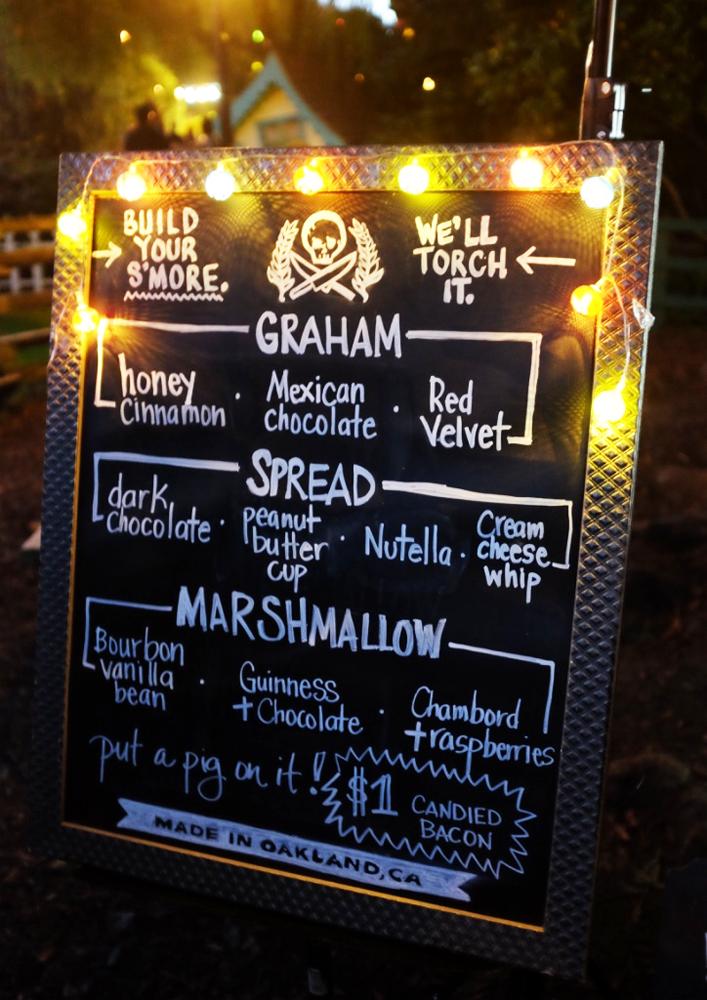Smoregasm menu