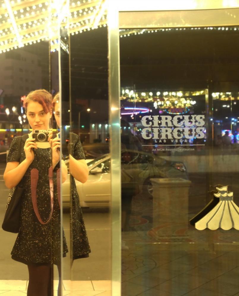 Circus Circus door; faux-surly author
