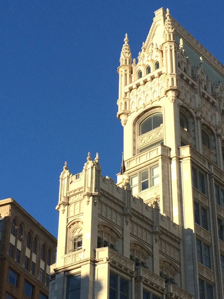 The Cathedral Building in downtown Oakland