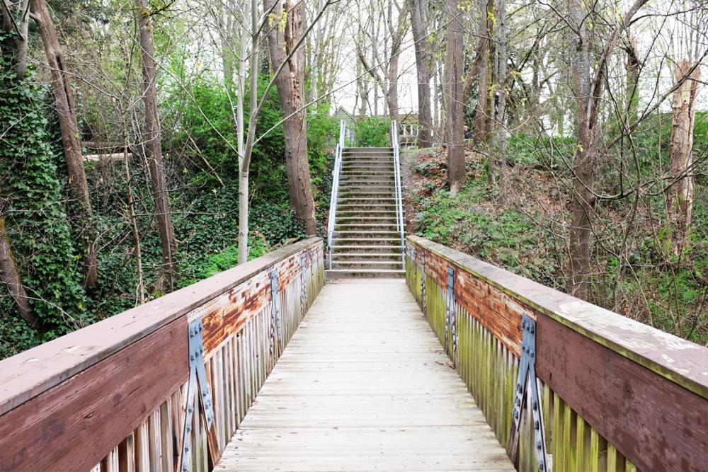 A bridge in Seattle's Ravenna neighborhood