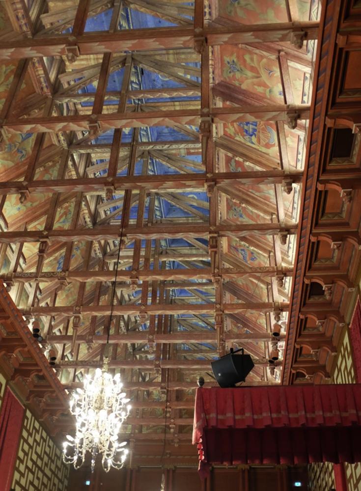 Rådssalen ceiling