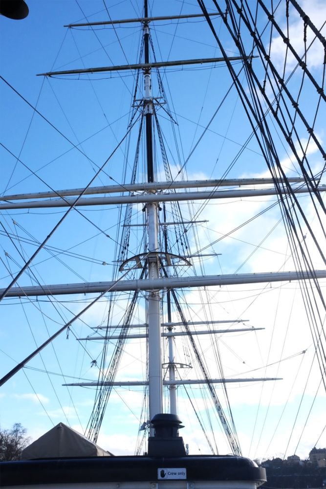 Masts of the Af Chapman